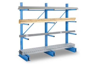 Cantilever léger | Rack cantilever | Rayonnage charge longue | Rayonnage cantilever - ops.fr
